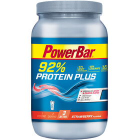PowerBar Protein Plus 92% Sports Nutrition Strawberry 600 g yellow/blue